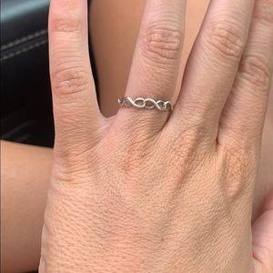Tiffany's Infinity Ring